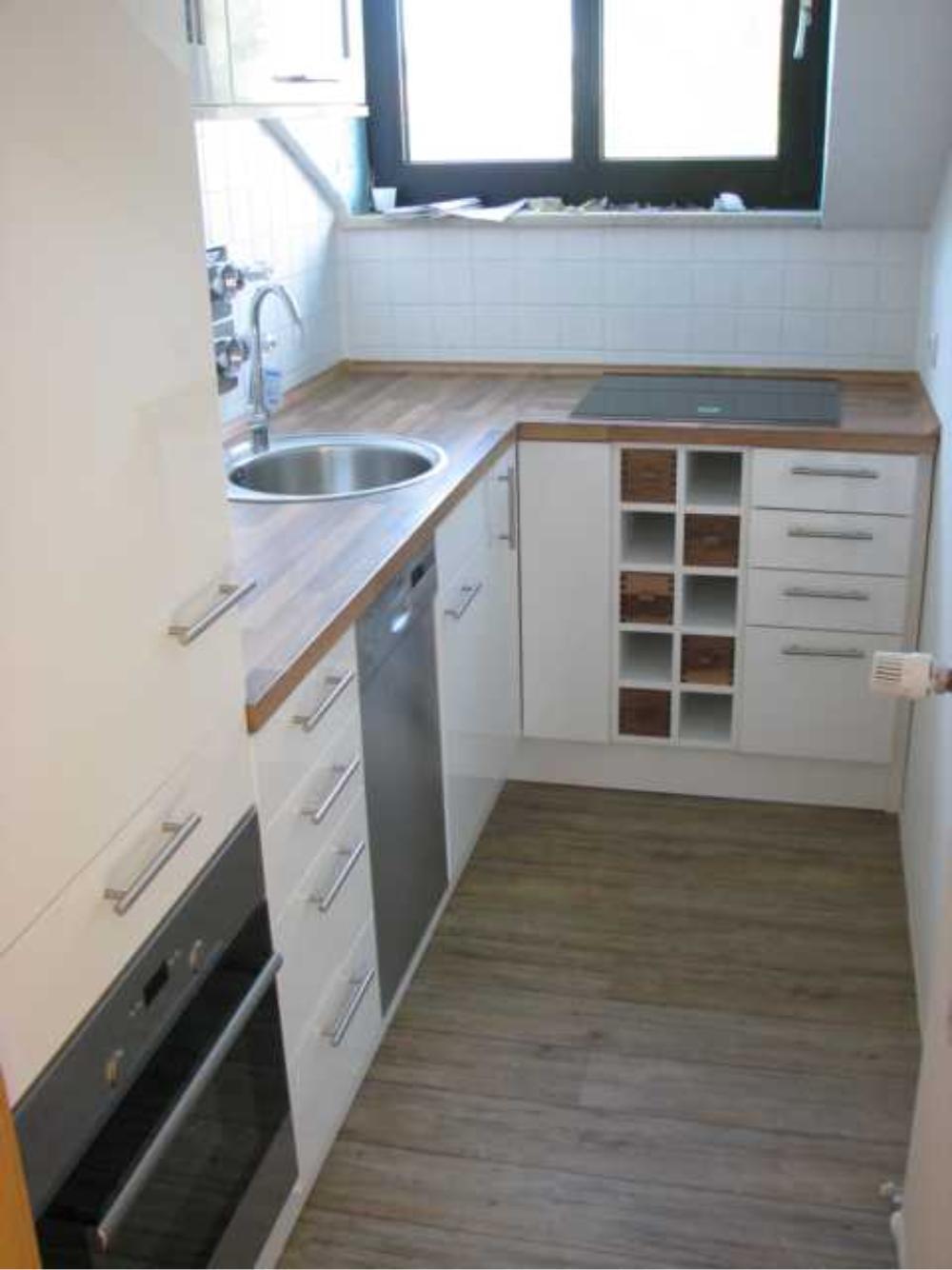 Küche, münchen fürstenried, einbauküche, küchentisch, eckbank ...